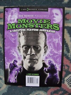 Rue Morgue Library Series Vol. 12      Movie Monsters   Uncirculated