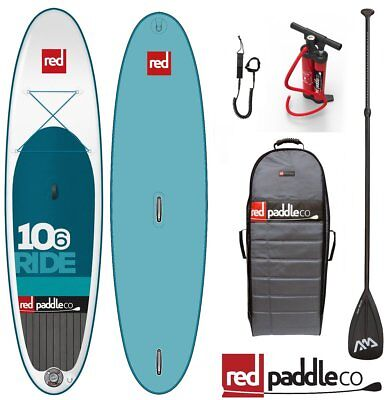 RED PADDLE RIDE Windsurf Set 10.6' Stand Up Paddle Surfboard