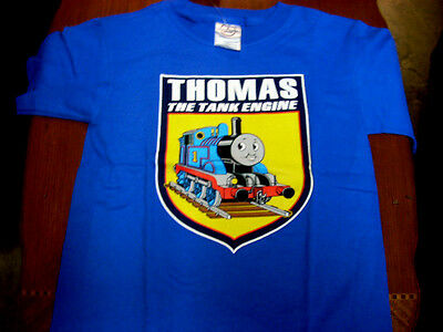 Thomas The Tank & Friends Short Sleeve T Shirt ( Size 4 ) Brand New!