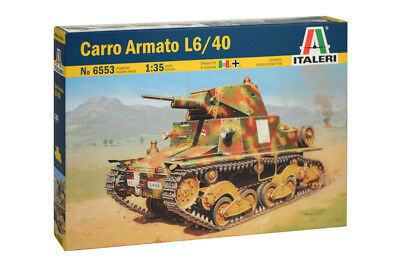 Carro Armato L6/40 Kit ITALERI 1:35 IT6553
