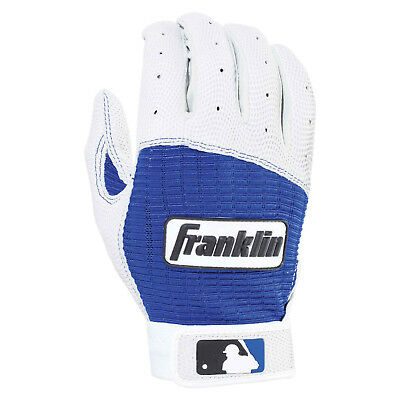Franklin Batting Glove Pro Classic Adult - Baseball Handschuh, blau/weiß