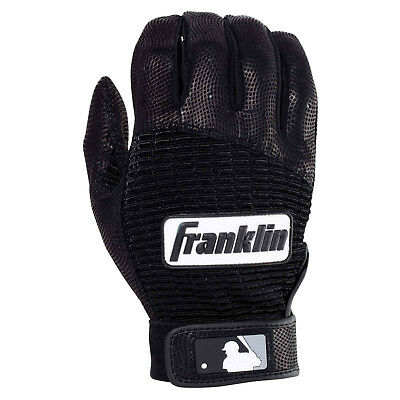 Franklin Batting Glove Pro Classic Adult - Baseball Handschuh, schwarz