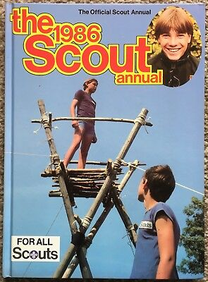 The 1986 Scout Annual - Official