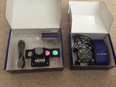 Meade DSI Pro II mono, inc full filter set, Filter slide, cooling fan, all boxed