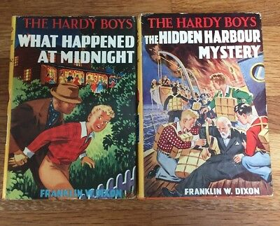 Hardy Boys Two Rare Harold Hill Editions