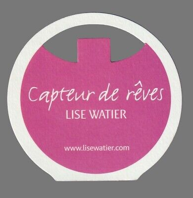 Carte publicitaire - advertising card  - Capteur de vie  Lise Watier