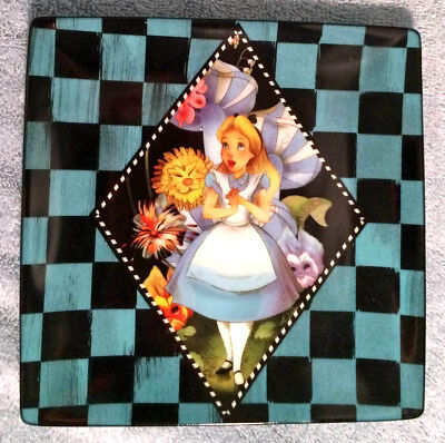 Disney Alice in Wonderland 6 inch Porcelain Dessert Plate