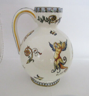 Gien (France) pitcher in perfect shape