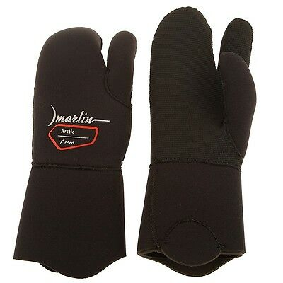 DIVING SPEARFISHING Three-fingered gloves Arctic 7mm