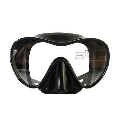 DIVING FREEDIVE  SPEARFISHING Frameless Mask Duo