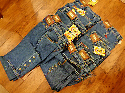 Wholesale Lot 9 Pairs Lawman Women's Jeans NWT New Resale Free Shipping