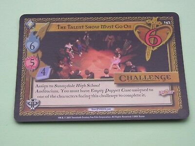 Buffy the Vampire Slayer CCG Pergamum Prophecy Foil Variant Card No 143