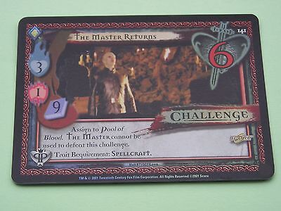 Buffy the Vampire Slayer CCG Pergamum Prophecy Foil Variant Card No 141