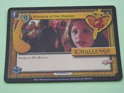 Buffy the Vampire Slayer CCG Pergamum Prophecy Foil Variant Card No 12