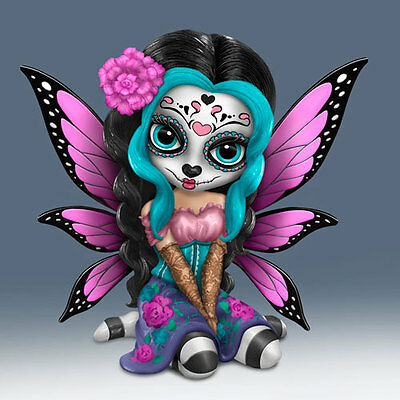 Bright Sofia - Sugar Skull Fairy Figurine - Jasmine Becket -Griffith