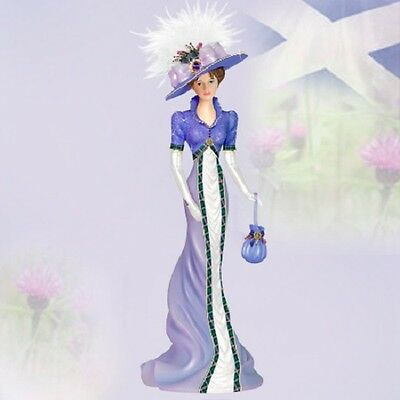 Highland Beauty Ladies of Scotland Collection Lady Figurine Bradford Exchange