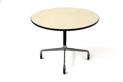 Eames table 3ft diameter early 'action office' version made by Hermann Miller