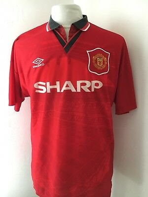 Maillot Shirt Football Foot HOME Domicile Manchester United 1994-1995