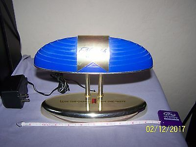 Cobalt Blue Michelob Ultra - Lamp - Electric Sign