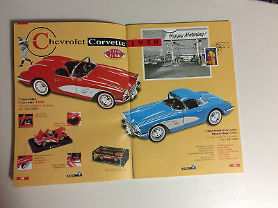 1958 Toy Catalog Of Model Cars By Solido From France.
