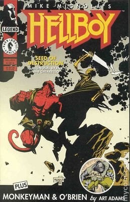 Hellboy Seed of Destruction (1994) #4 FN