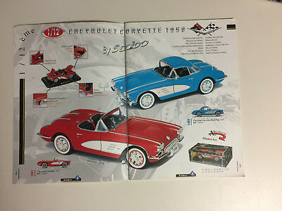 Creat #121996 TOY CATALOG OF MODEL CAR BY SOLIDO FROM FRANCE.
