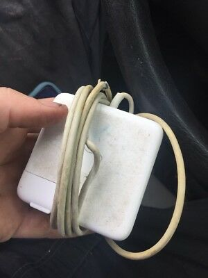 """Used Genuine Original Apple MagSafe 60W AC Adapter Charger MacBook Pro 13"""" A1344"""
