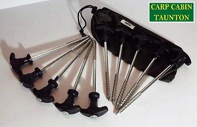 New ngt bivvy pegs +10 for carp and coarse fishing