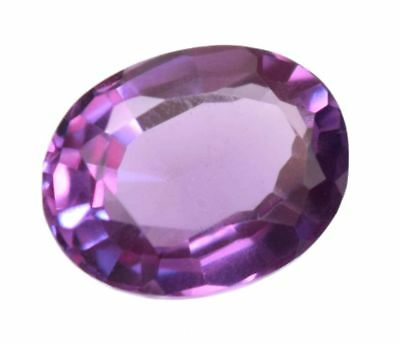 6.20 Ct Natural Alexandrite Color Changing GGL Certified Oval Cut Excellent  Gem