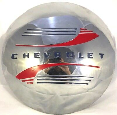 Chevrolet Replica Hubcap Wall Decor Sign Garage Man Cave