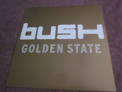 Bush 2001 Golden State 12x12 Promo Cover Flat Poster Double Sided