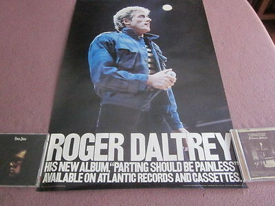 Roger Daltrey 1984 Parting Should Be Painless Promo Poster The Who Neal Preston