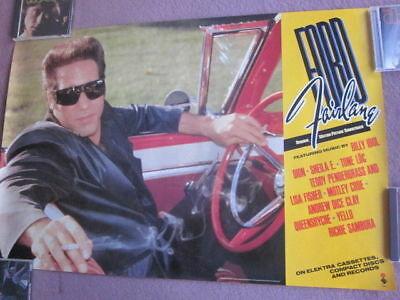 The Adventures OF Ford Fairlane 1990 Soundtrack Promo Poster Andrew Dice Clay