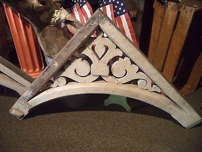Vintage Wood Industrial Country Primitive Architectural Salvage Corbels Fancy