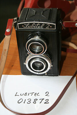Lubitel 2 TLR Medium Format Camera - Great for Lomography - With Case
