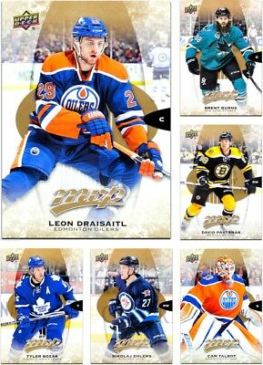 2016-17 Upper Deck MVP **** PICK YOUR CARD **** From The BASE SET