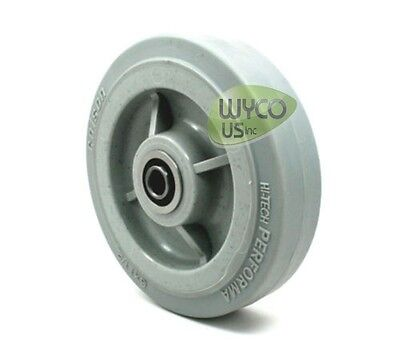 "Colson Performa Wheel, 6""x1-1/2"",1/2"" Center, Precision Bearings, Buffers, Carts"