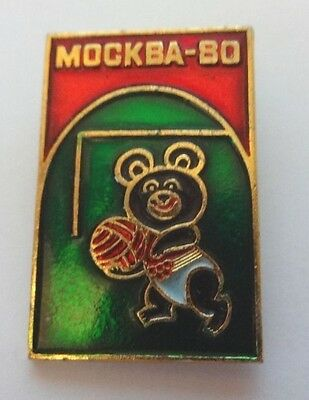 Moscow Olympics 1980 Russian Football badge