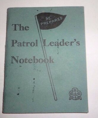The Patrol Leader's Notebook  - Girl Guides 1963