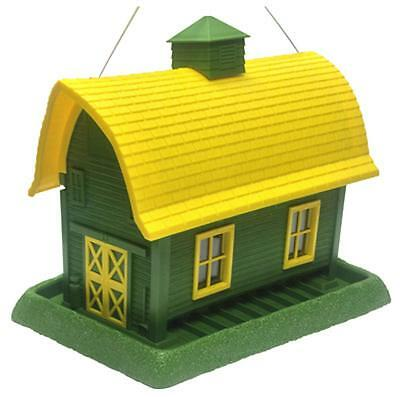 North State Large, Green, Barn Bird Feeder, 9068
