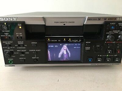 Sony HVR-M25U Desktop HDV VTR Professional Recorder / Player 2