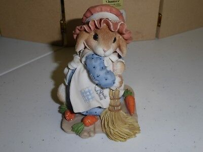 Enesco Blushing Bunnies Priscella Hillman Swept Up In The Blessings Of Fall