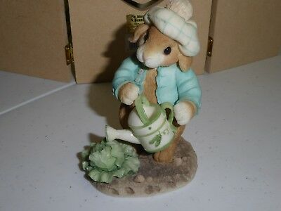 Enesco Blushing Bunnies Lettuce Give Thanks For Friends