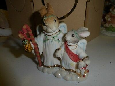 Enesco Blushing Bunnies   Hillman Here We Stand...on The Edge Of A New Tomorrow