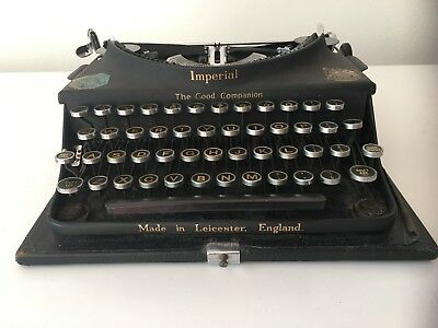 Vintage 1933 Imperial Typewriter - The Good Companion - Working condition