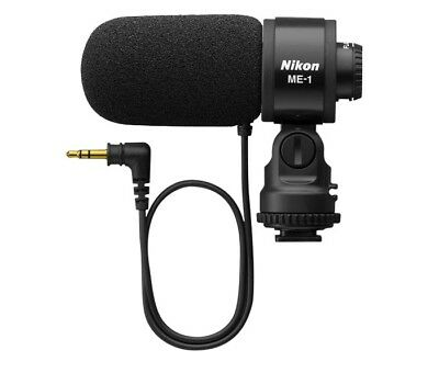 Nikon ME-1 Stereo Microphone Included with Wind Screen and Soft Case
