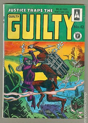 Justice Traps The Guilty (1951) UK #42 VG 4.0