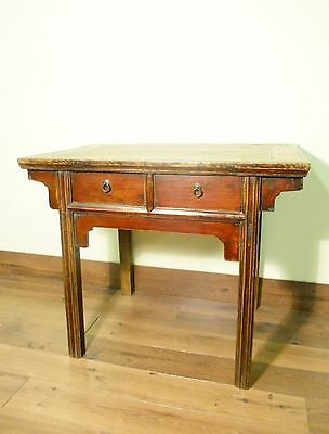 Antique Chinese Ming Painting Table/Desk (5774), Circa 1800-1849