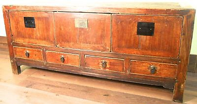 Antique Chinese Ming Cabinet (5986), Circa 1800-1849