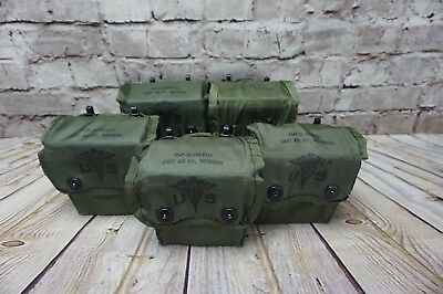 ONE Individual First Aid Kit USGI Olive Drab Alice Pouch US Army Military IFAK